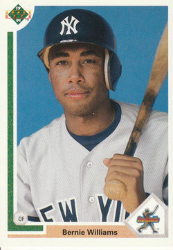 Bernie Williams 1991 Upper Deck #11