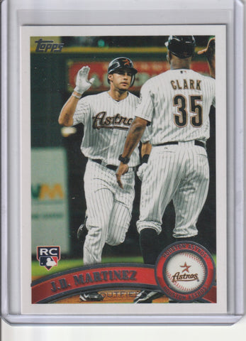 J.D. Martinez 2011 Topps Update Series #US186 Rookie Card