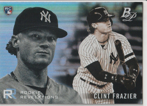 Clint Frazier 2018 Bowman Platinum - Rookie Revelations #RR-15
