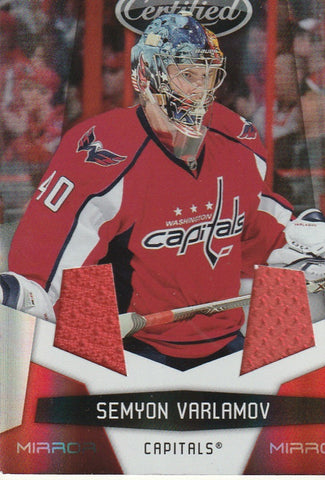 Semyon Varlamov 2010-11 Certified Mirror Red Materials #147  /150
