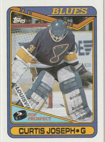Curtis Joseph 1990-91 Topps #171 Rookie Card