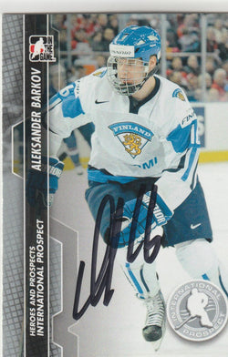 Aleksander Barkov Autograph 2014 In The Game Hockey Card