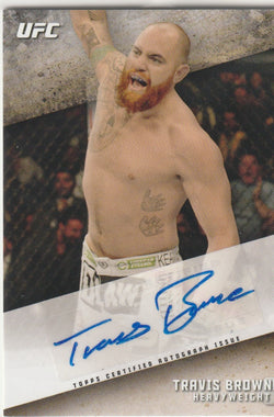 Travis Browne 2015 Topps UFC Knockout - Autographs #KOA-TB