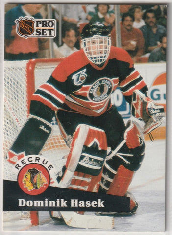 Dominik Hasek 1991-92 Pro Set French #529 Rookie Card