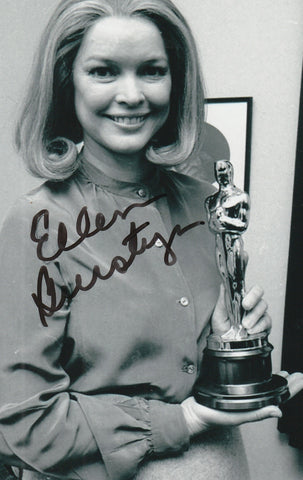 Ellen Burstyn Autograph 4x6 Photo