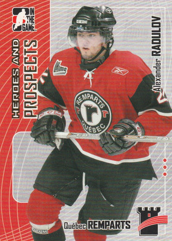 Alexander Radulov 2005-06 In the Game Heroes and Prospects #137