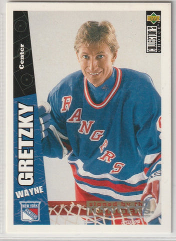 Wayne Gretzky 1996-97 Upper Deck Collector's Choice #170