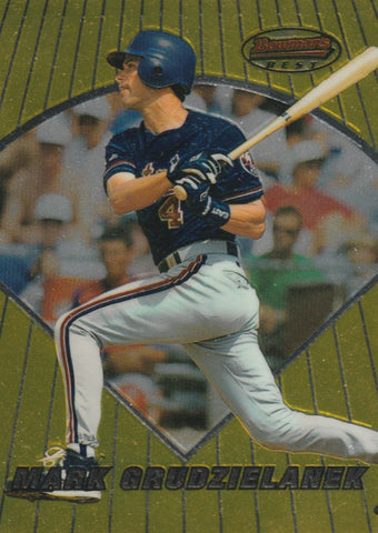 Mark Grudzielanek 1996 Bowman's Best #84