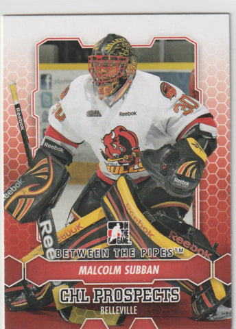 Malcolm Subban 2012 13 In The Game Between The Pipes Hockey 4