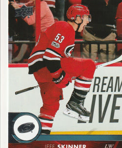 Jeff Skinner 2017-18 Upper Deck Series 2 Hockey #284