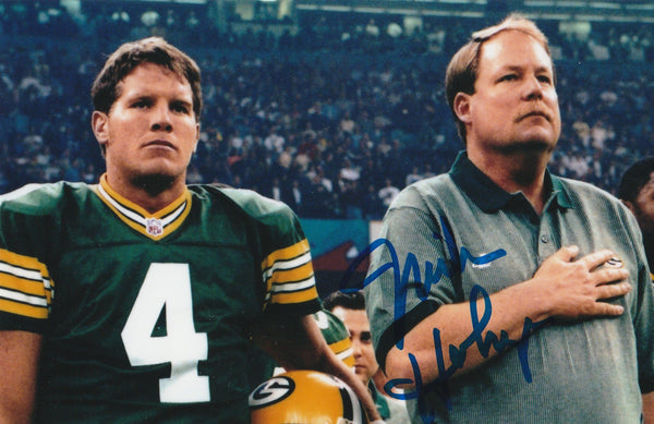 Mike Holmgren Autograph Green Bay Packers 4x6 Photo