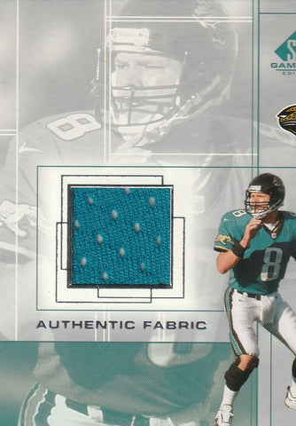 Mark Brunell 2001 SP Game Used Edition - Authentic Fabric #MB