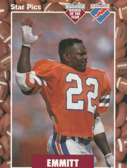 Emmitt Smith 1991 Star Pics #20