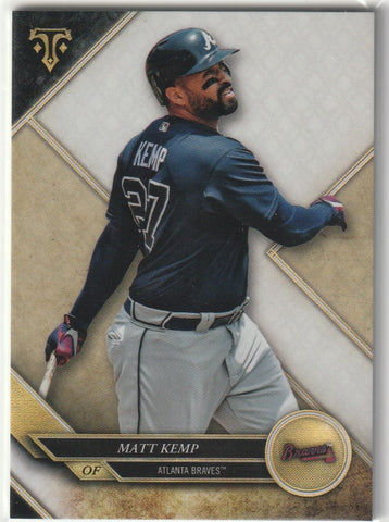 Matt Kemp 2017 Topps Triple Threads #56