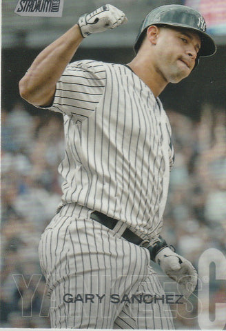 Gary Sanchez 2018 Topps Stadium Club #257