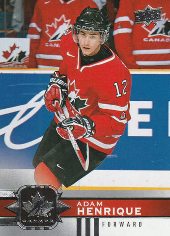 Adam Henrique 2017-18 Upper Deck Team Canada Hockey #60