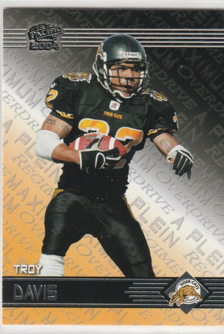 Troy Davis 2004 CFL Pacific Maximum Over Drive #4