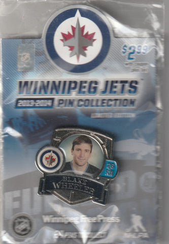 Blake Wheeler 2013-14 Winnipeg Jets Limited Edition Pin