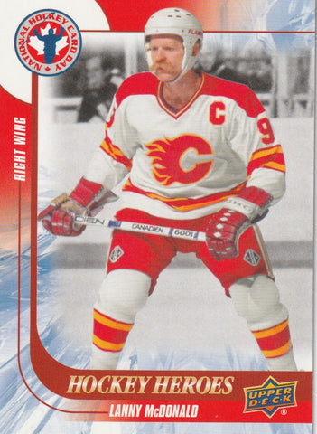 Lanny McDonald 2016 Upper Deck National Hockey Card Day - Canadian #CAN 13  Hockey Heroes