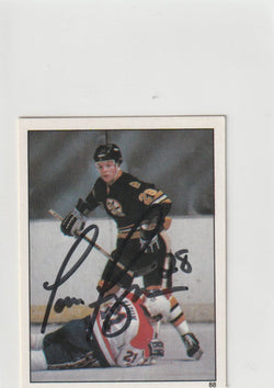 Tom Fergus Autograph 1982 O-Pee-Chee Hockey Sticker