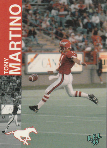 Tony Martino 1995 R.E.L. CFL #11