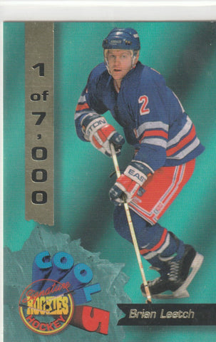 Brian Leetch 1995 Signature Rookies - Cool 5 #CF3 /7000