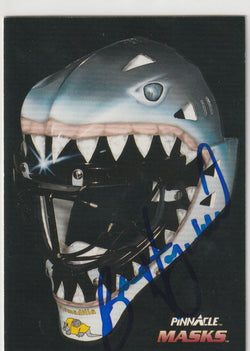 Brian Hayward Autograph 1992-93 Pinnacle Hockey Card