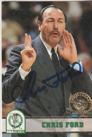 Chris Ford Autograph 1993-94 Skybox Basketball Card