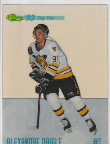 Alexandre Daigle 1993-94 Classic Draft - Top Ten #DP1 /25000
