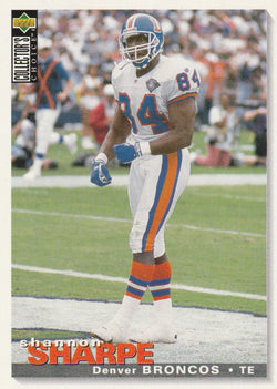 Shannon Sharpe 1995 Upper Deck Collector's Choice #116