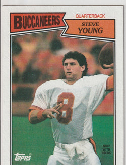 Steve Young 1987 Topps #384
