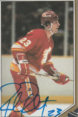 Paul Reinhart Autograph 1987-88 O-Pee-Chee Hockey Sticker