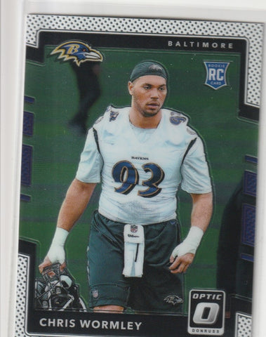 Chris Wormley 2017 Donruss Optic Football #143 Rookie Card