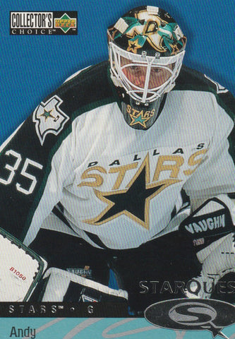 Andy Moog 1997 Upper Deck Collectors Choice StarQuest #SQ34
