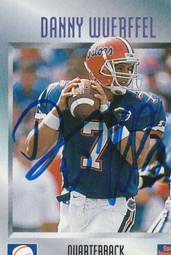 Danny Wuerffel Autograph Sports Illustrated For Kids Football Card