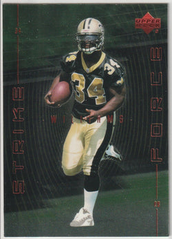 Ricky Williams 1999 Upper Deck - Strike Force #SF18