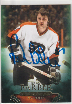Bill Barber Autograph 2011 Parkhurst Champions Hockey Card