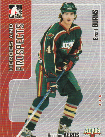 Brent Burns 2005-06 ITG Heroes and Prospects #54