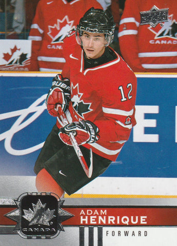 Adam Henrique 2017-18 Upper Deck Team Canada #60