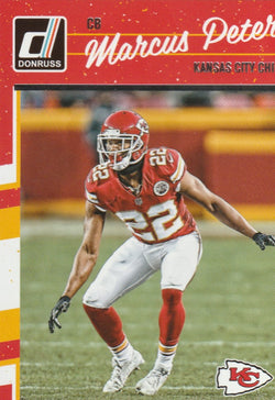 Marcus Peters 2016 Donruss #150