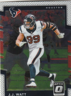 J.J. Watt 2017 Donruss Optic Football #75