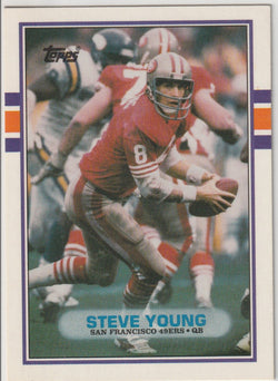 Steve Young 1989 Topps Traded #24T