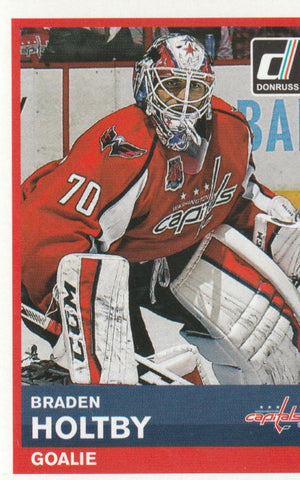 Braden Holtby 2015-16 Panini NHL Stickers #225