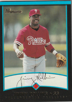 Jimmy Rollins 2001 Bowman #225