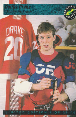 Dallas Drake 1993 Classic Pro Hockey Prospects - Limited Edition #LP5 /26000