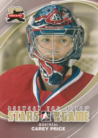 Carey Price 2011-12 In the Game Between the Pipes #90