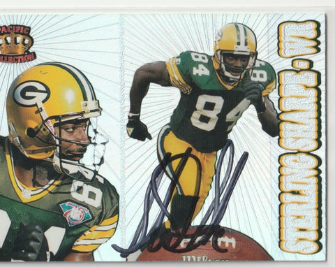 Sterling Sharpe Autograph 1995 Pacific Collection Football Card
