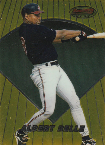 Albert Belle 1996 Bowman's Best #6
