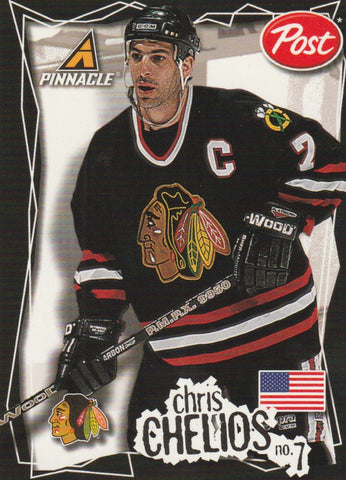 Chris Chelios 1997-98 Pinnacle Post #12