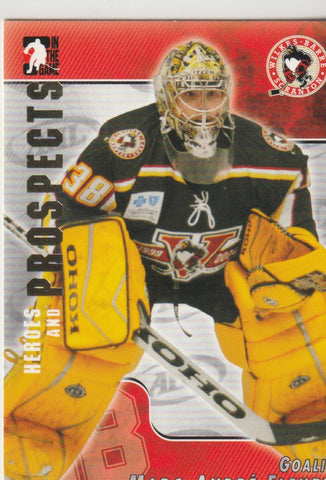 Marc-Andre Fleury 2004-05 ITG Heroes and Prospects #34